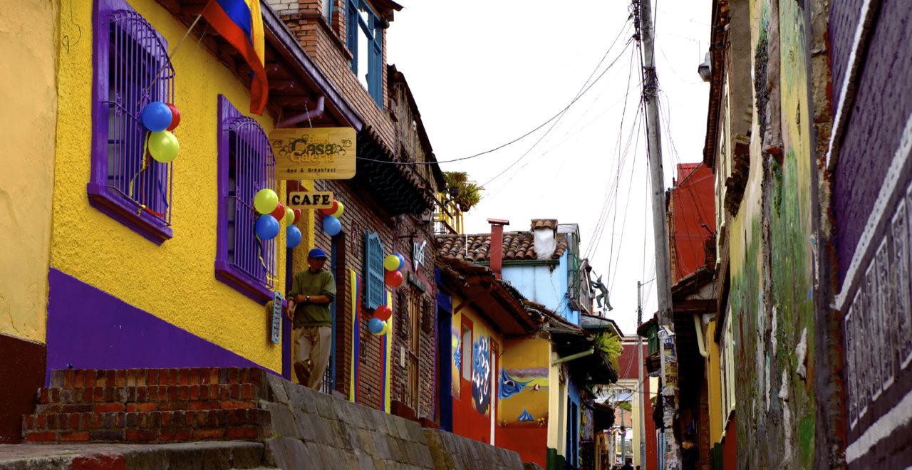 Bydelen Candelaria, Bogota