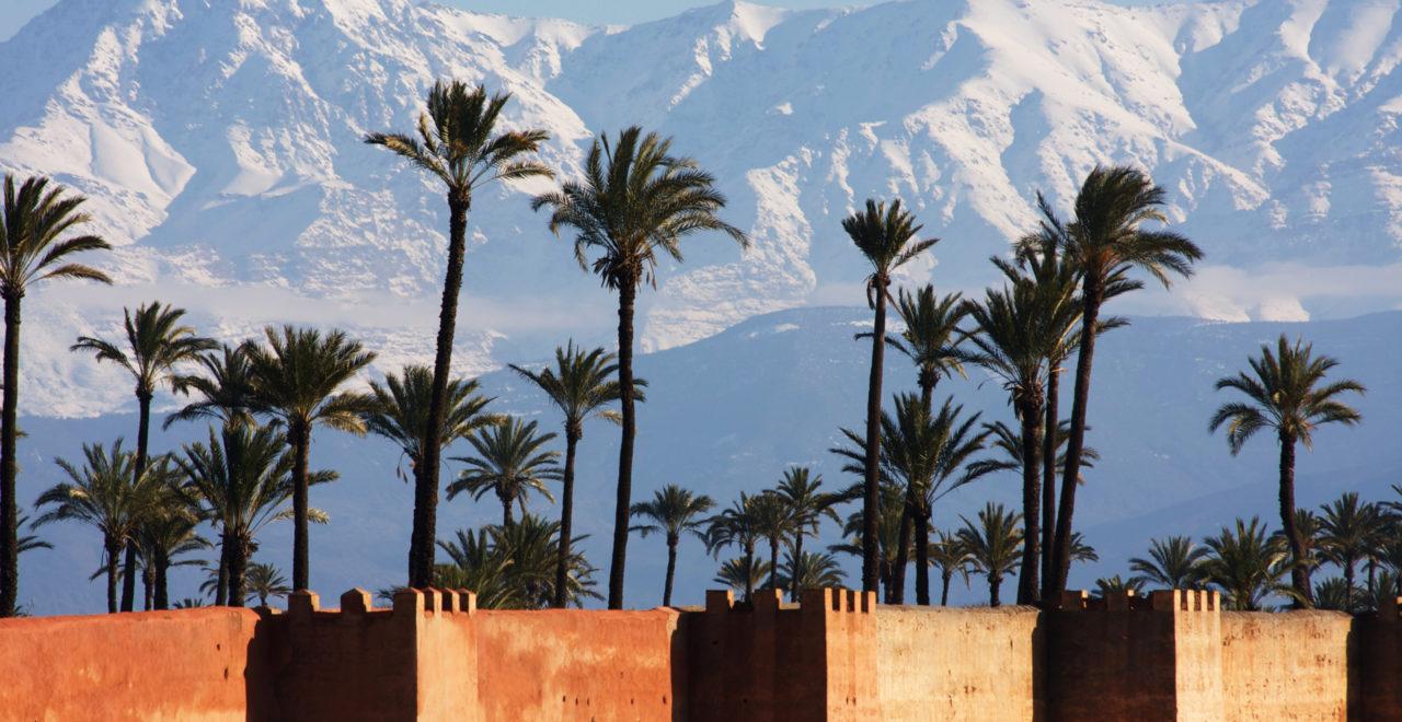 marrakech marokko atlasfjellene