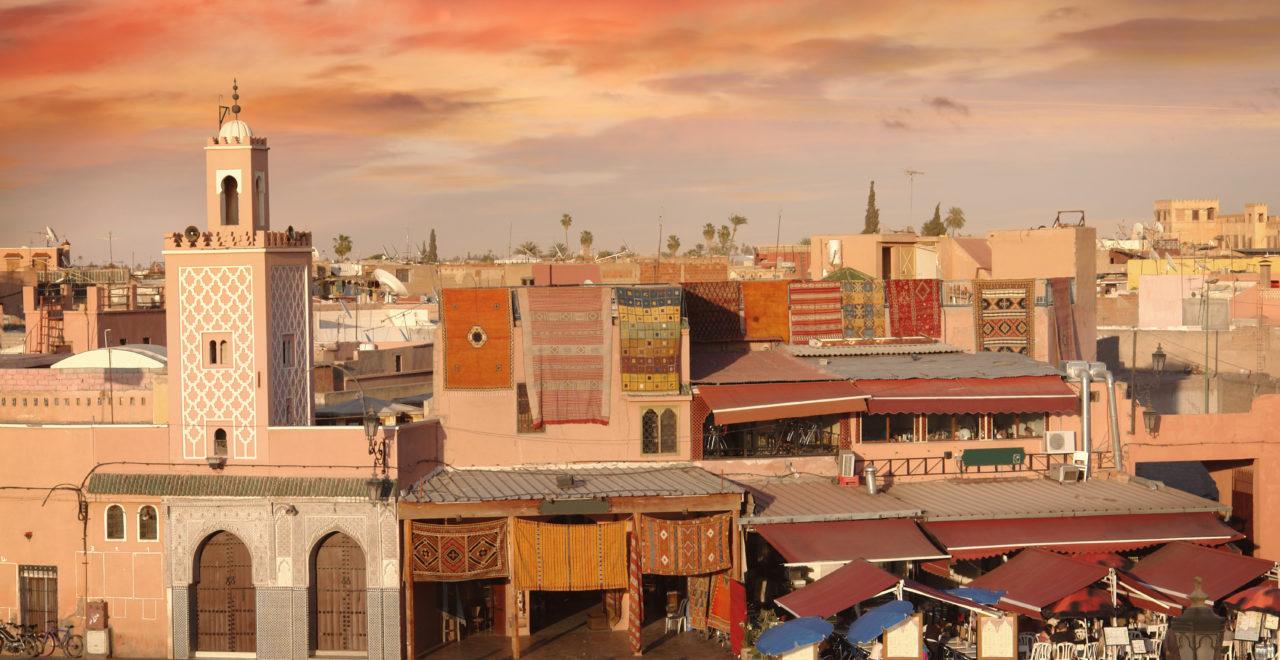 Djemaa el-Fna Marrakech Marokko