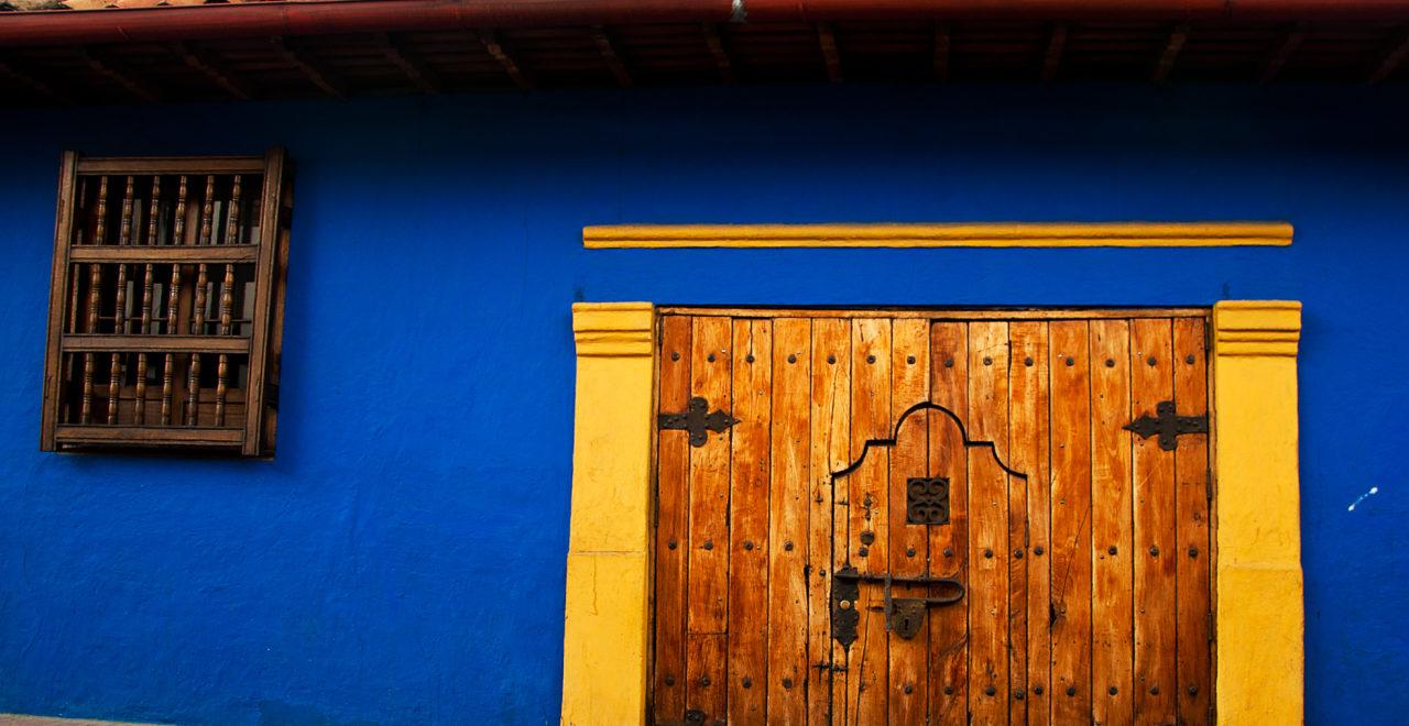 Bydelen Candelaria, Bogota, Colombia