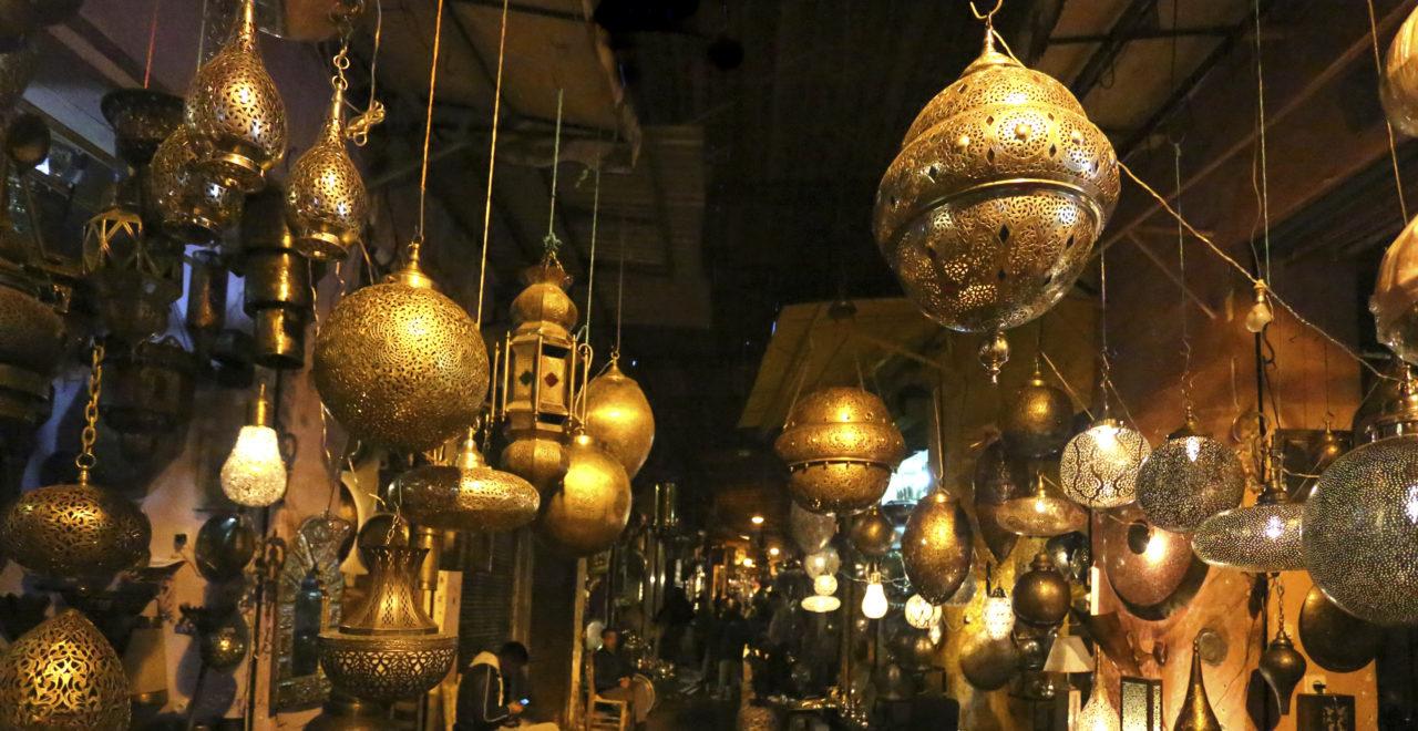 lamper marrakech marokko marked
