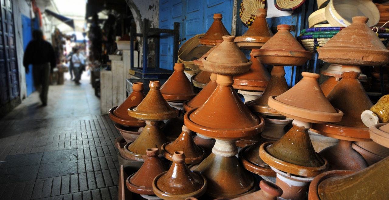 tagine marrakech marokko marked