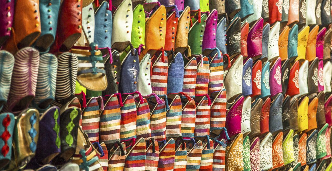 sko marrakech marokko marked