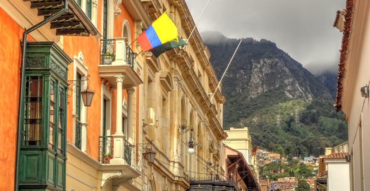 Bogota gate Colombia
