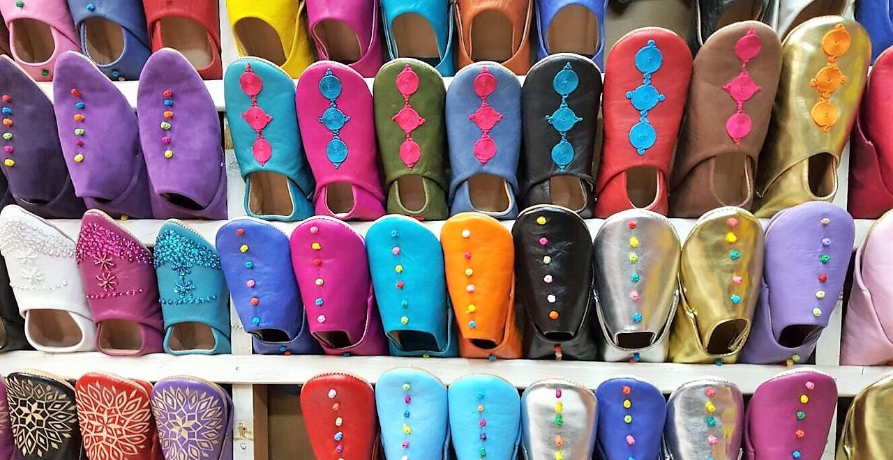 Marokko marked tøfler babouch