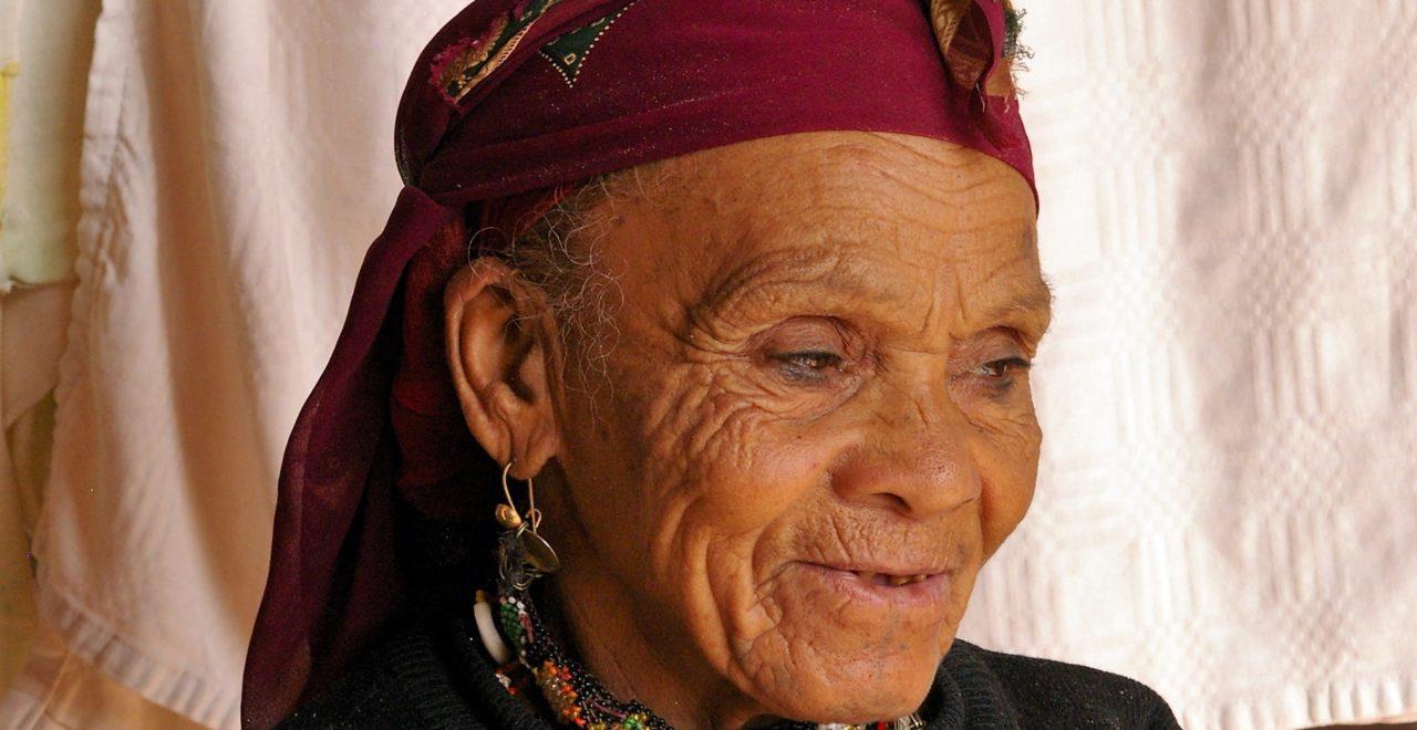 Berberkvinne Marokko