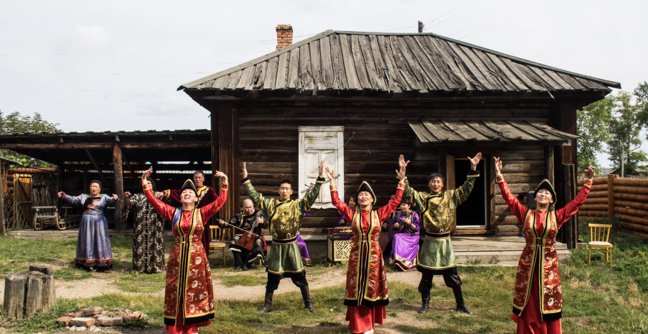 Shaman - seremoni - Olkhon - Ust-Orda village - Bajkal - Russland