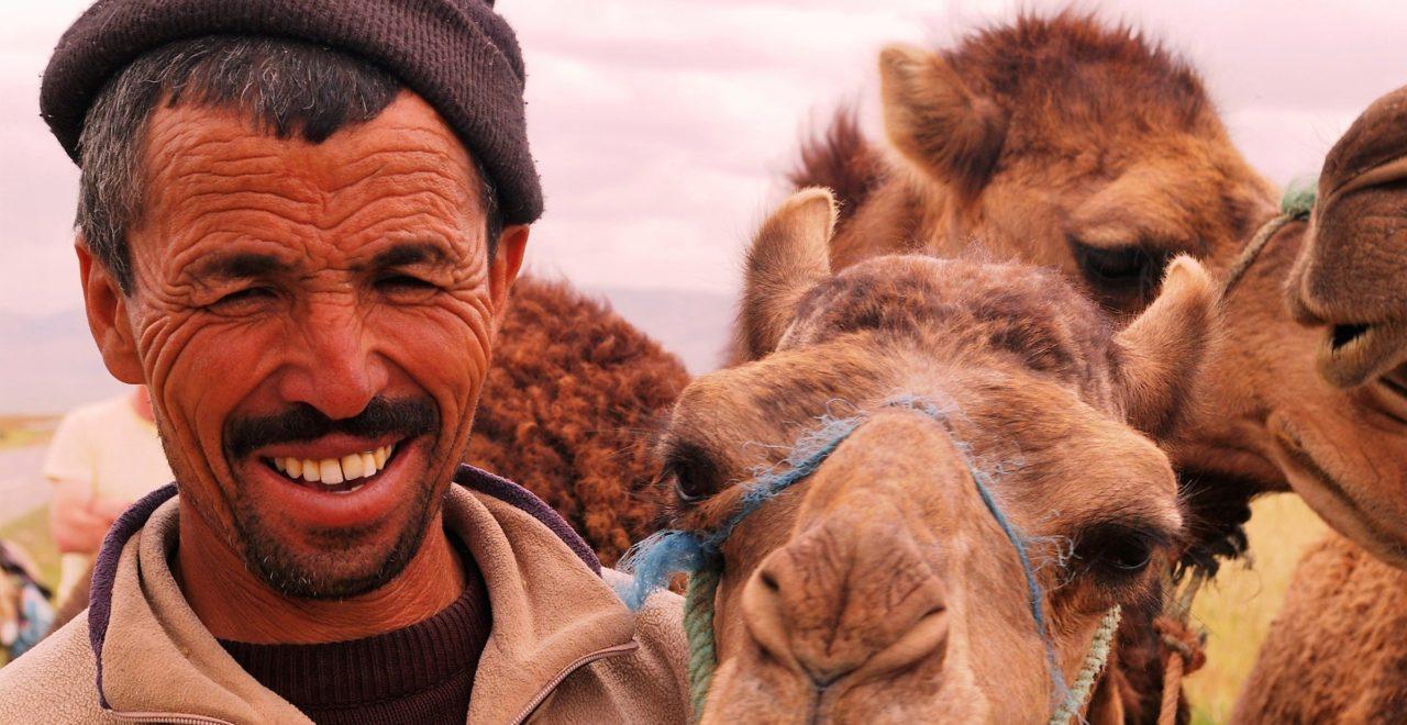 Kamel mann Marokko