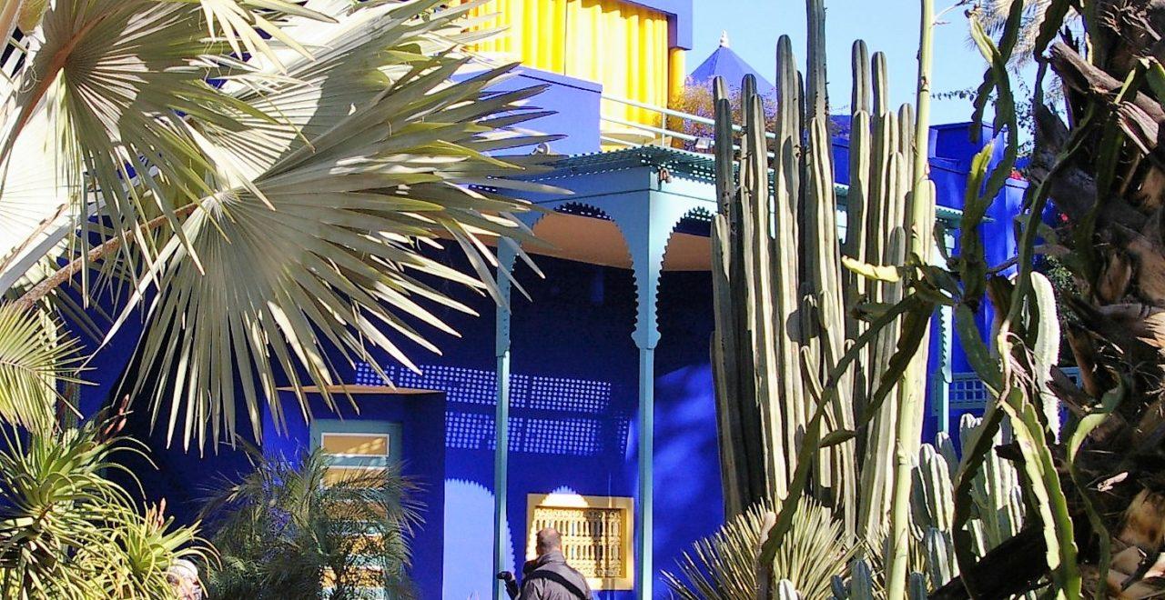 Hagen til Yves Saint Laurent, Majorelle, Marrakech, Marokko