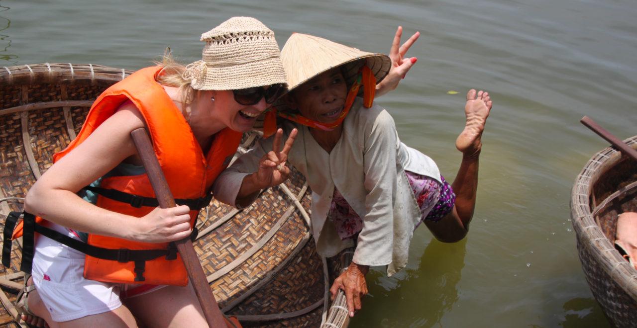 Vietnam Hoi An båt sykkeltur