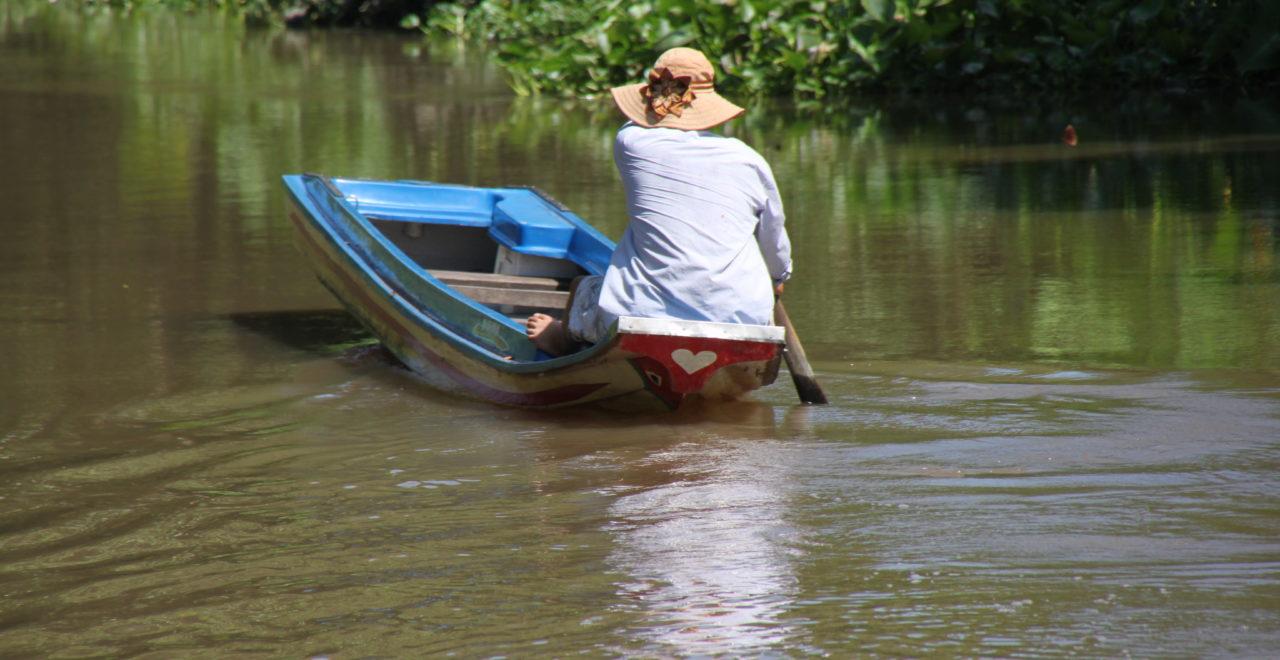 Vietnam båt Mekong