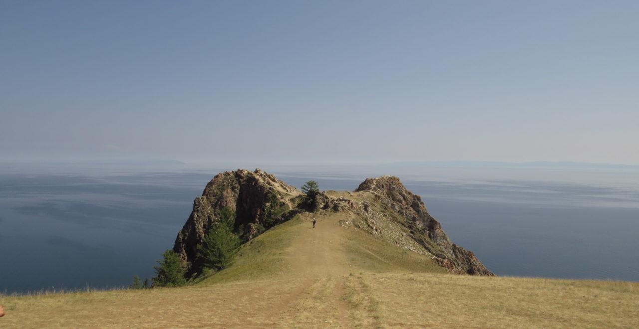 Khoboi cape Bajkalsjøen Russland