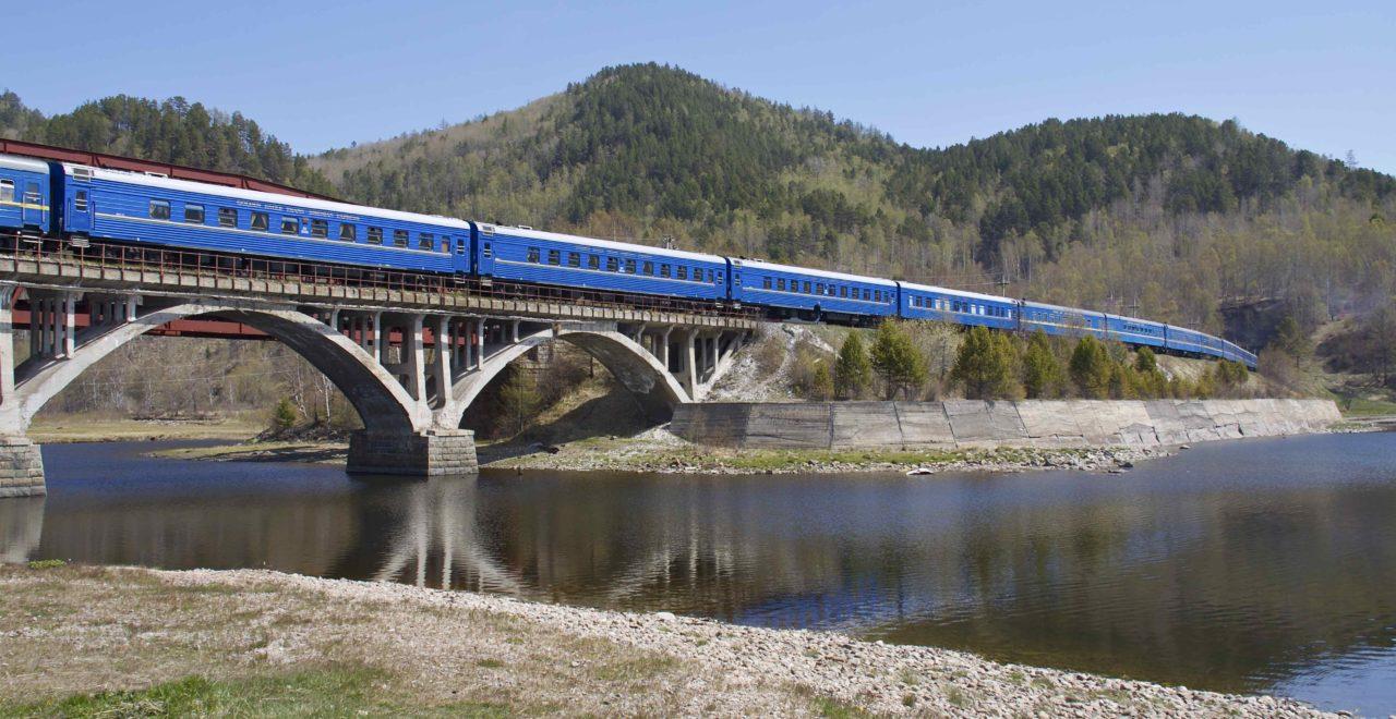 jernbane tog Bajkal Russland