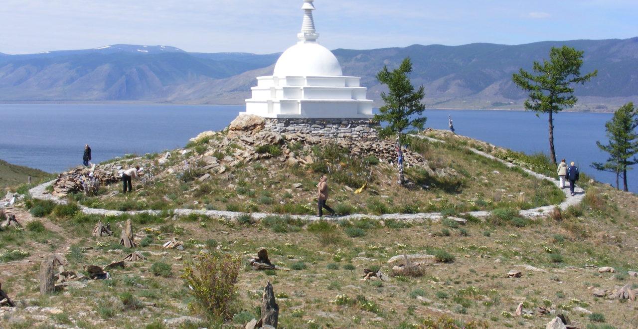 hellig plass Ogoi island øy Bajkalsjøen Russland