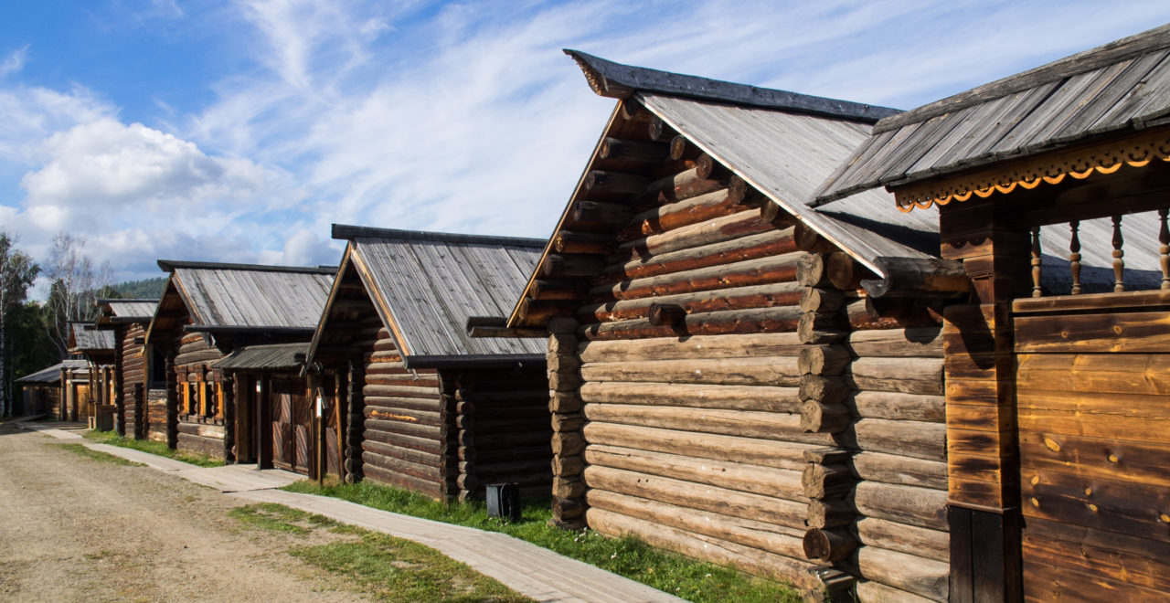 Museum of wooden architecture, Listvyanka, Irkutsky District, Irkutsk Oblast, Russland