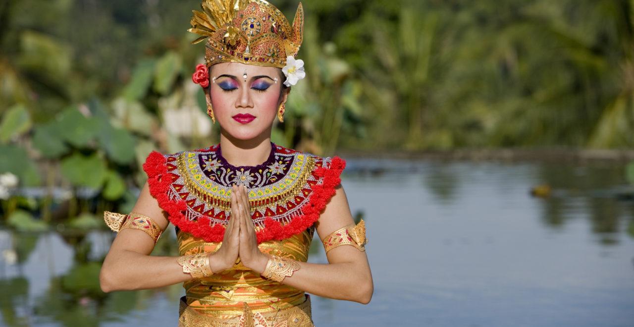 Balinesisk danser Indonesia Bali