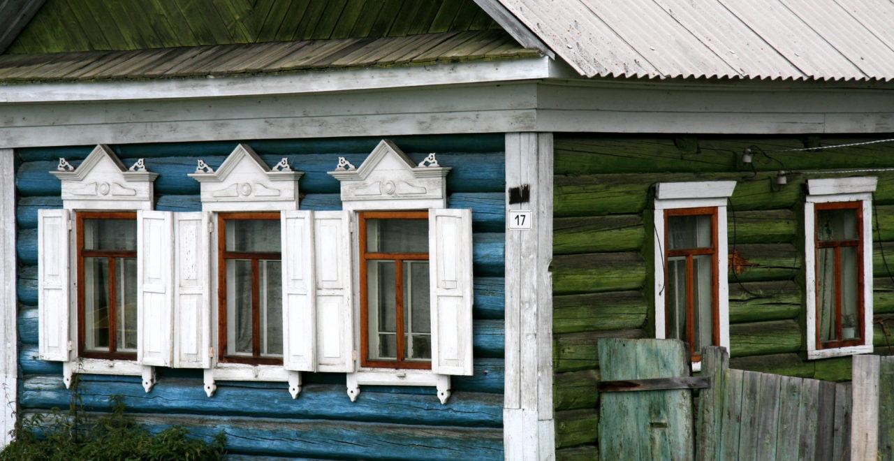 Irkutsk Russland vindu hus