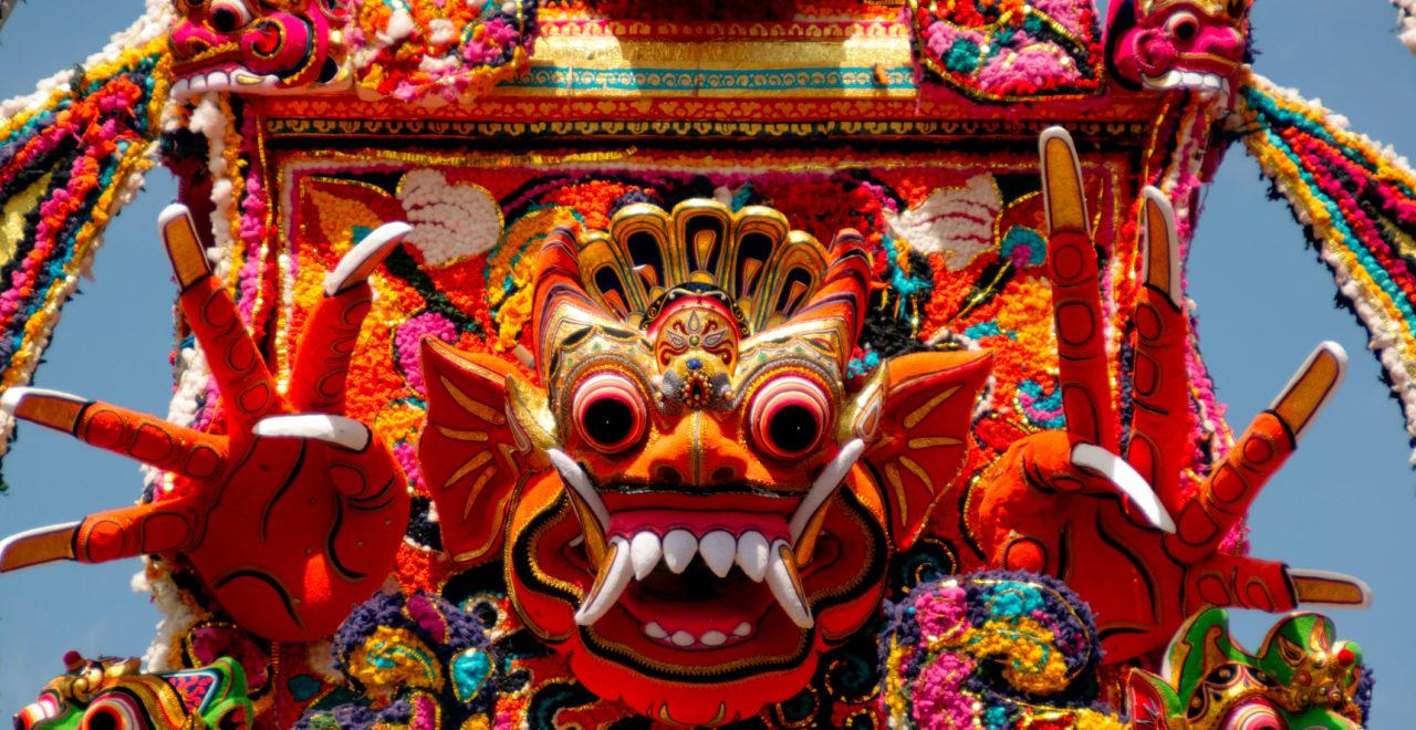 Indonesia Bali Ubud kremasjonseremoni