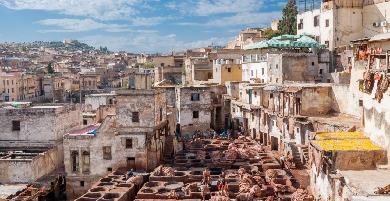 garveri, Fes, Marokko