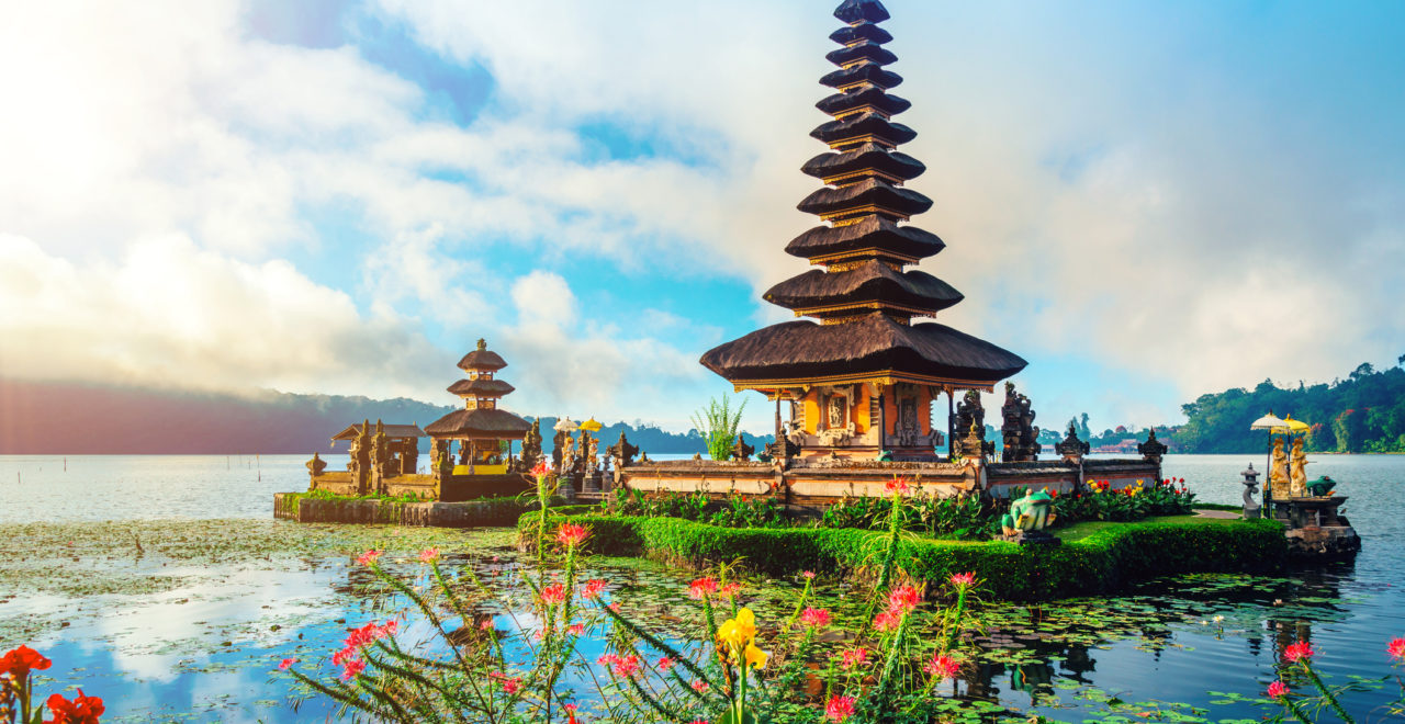 Indonesia Bali tempel Pura Ulun Danu