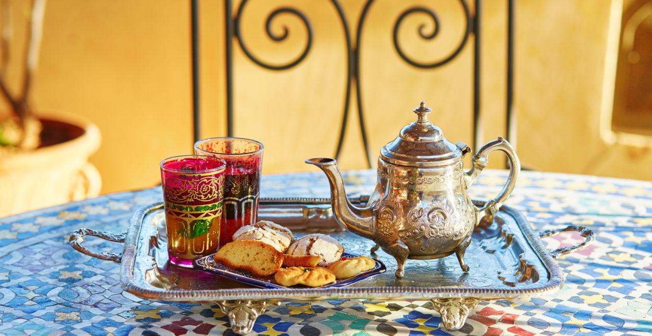 myntete, Marokko