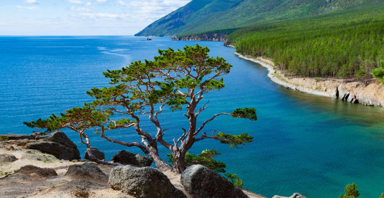 Bajkalsjøen, Russland