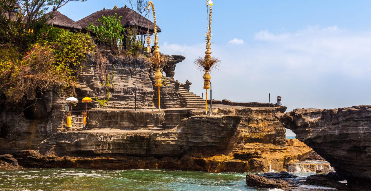 Pura Tanah Lot Bali, Indonesia