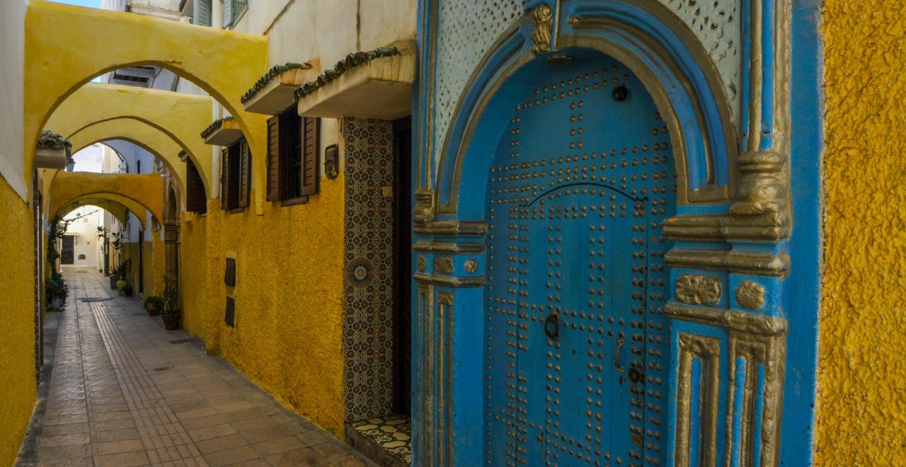 Rabat, Marokko, dør