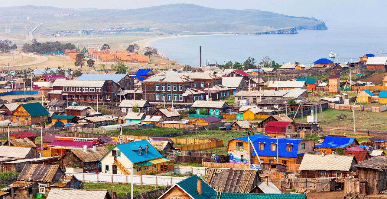 Khuzhir village, Olkhon island, Russland