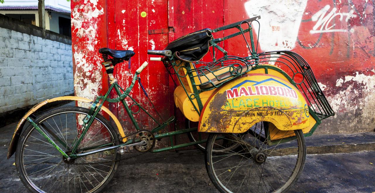 Indonesia Bali sykkel