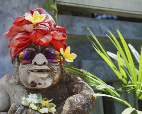 Indonesia Bali tempel humor