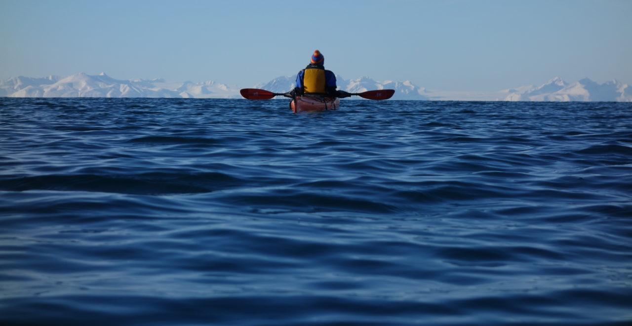 kajakk Svalbard