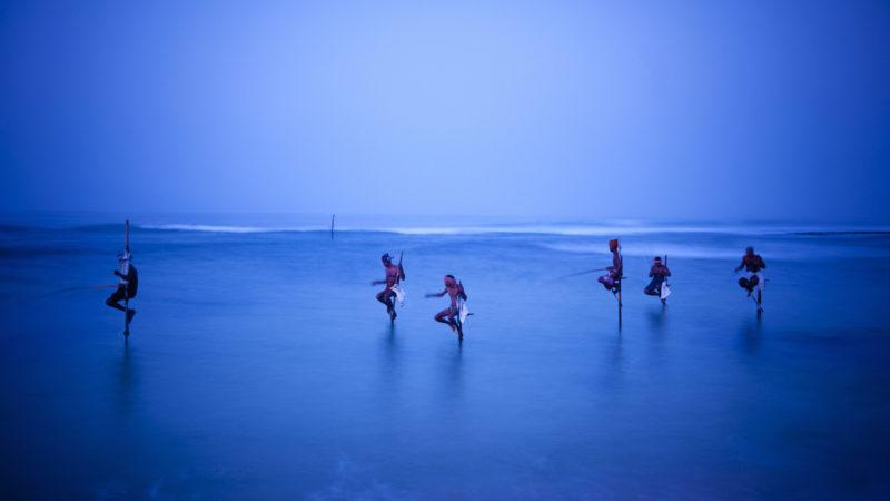 Sri Lanka, Galle, fiskere