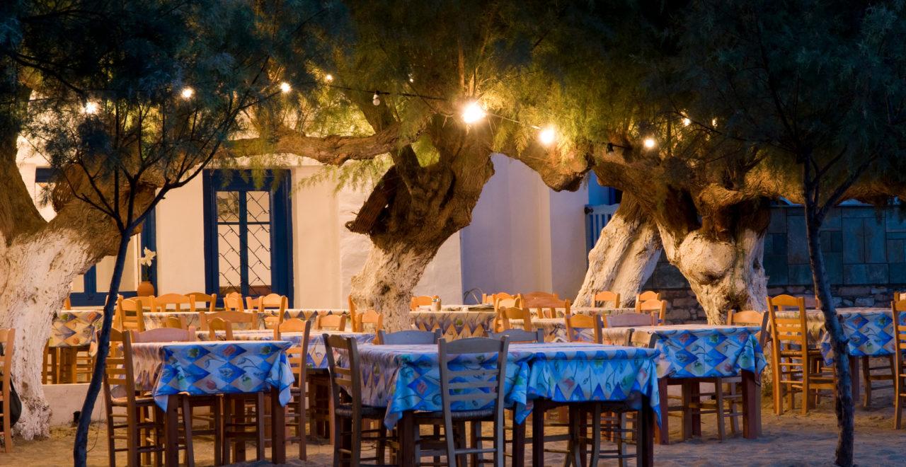 Gresk taverna Sifnos Hellas