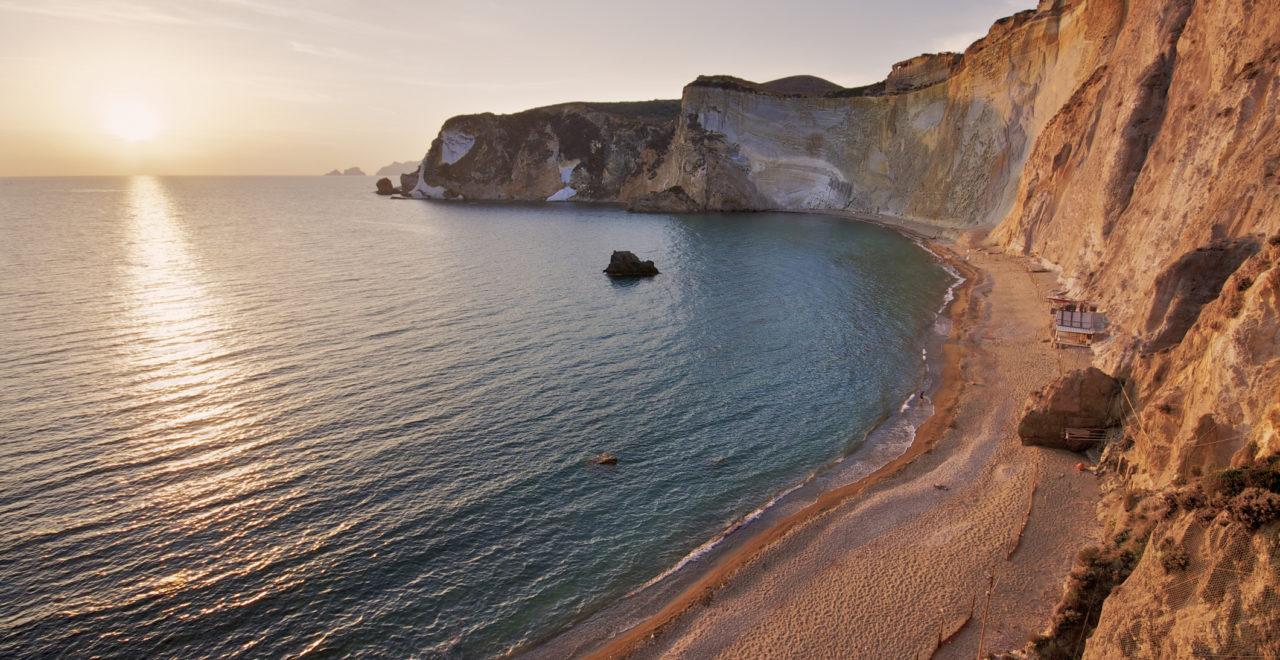 Chiaia di Luna beach, strand, Italia, Lazio, Ponza