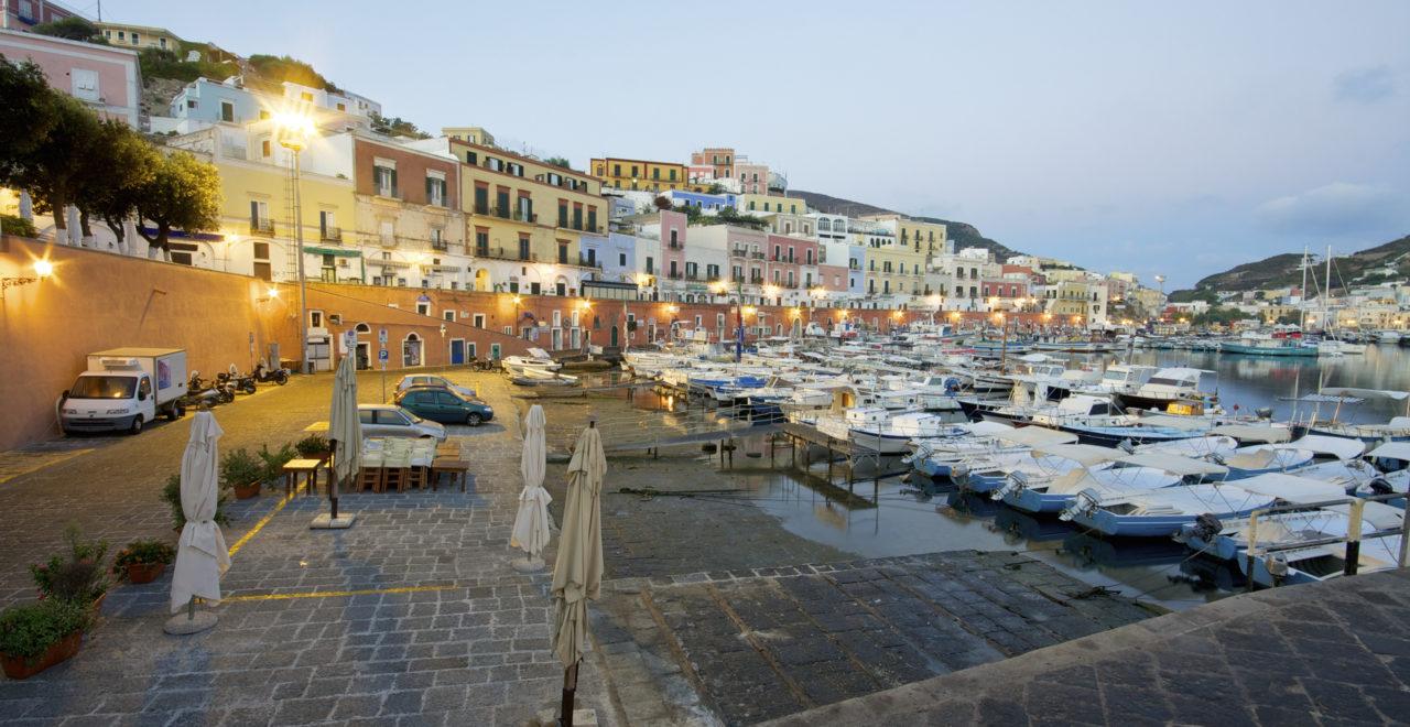 harbor, havn, Italia, Ponza, Lazio