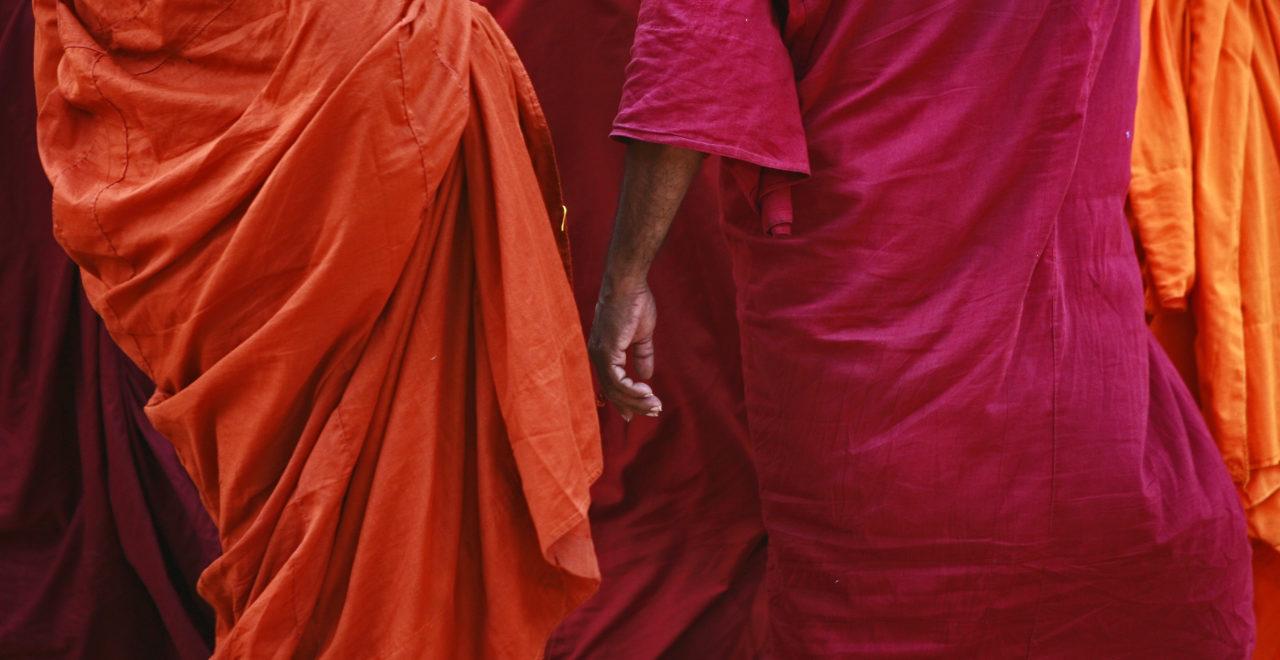 Sri Lanka, buddhist, munk