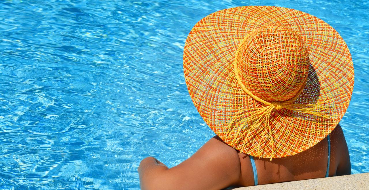 Hellas dame hatt basseng