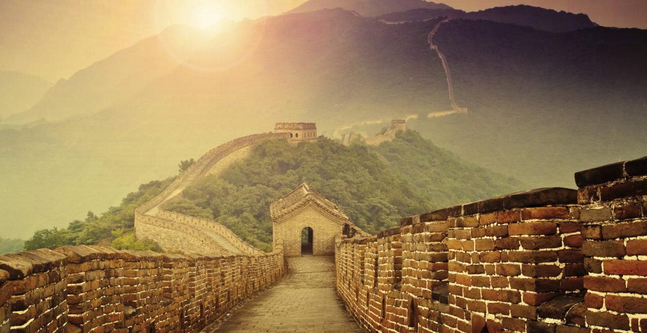Kinesiske mur, Kina