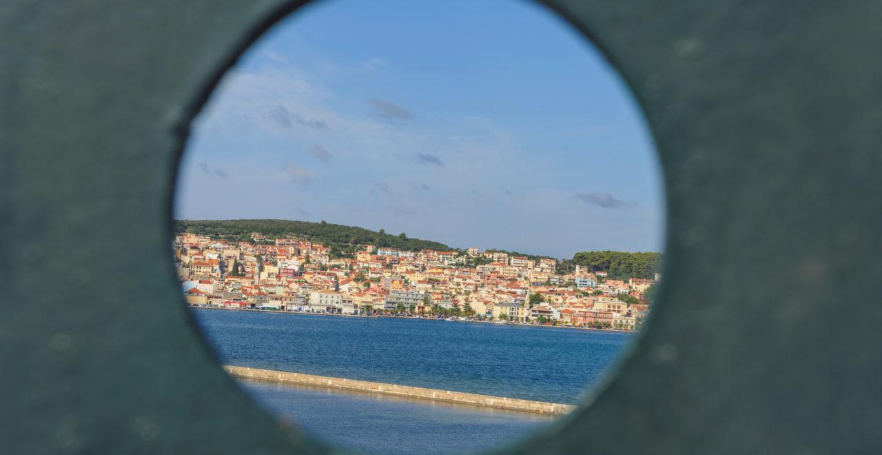 Argostoli, by, Kefalonia, Hellas