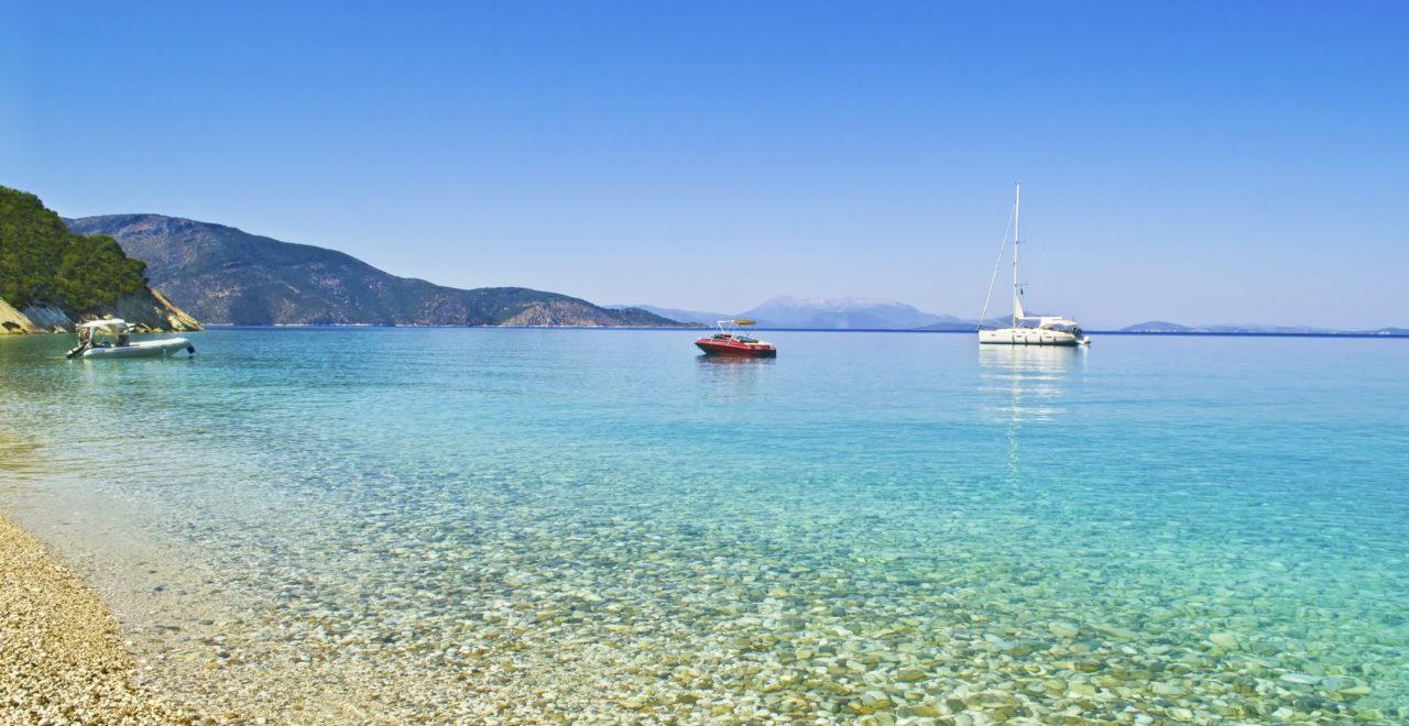 Gidaki strand, Ithaka, Hellas