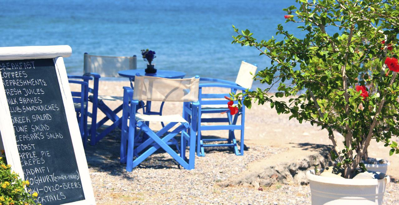 Hellas mat restaurant strand