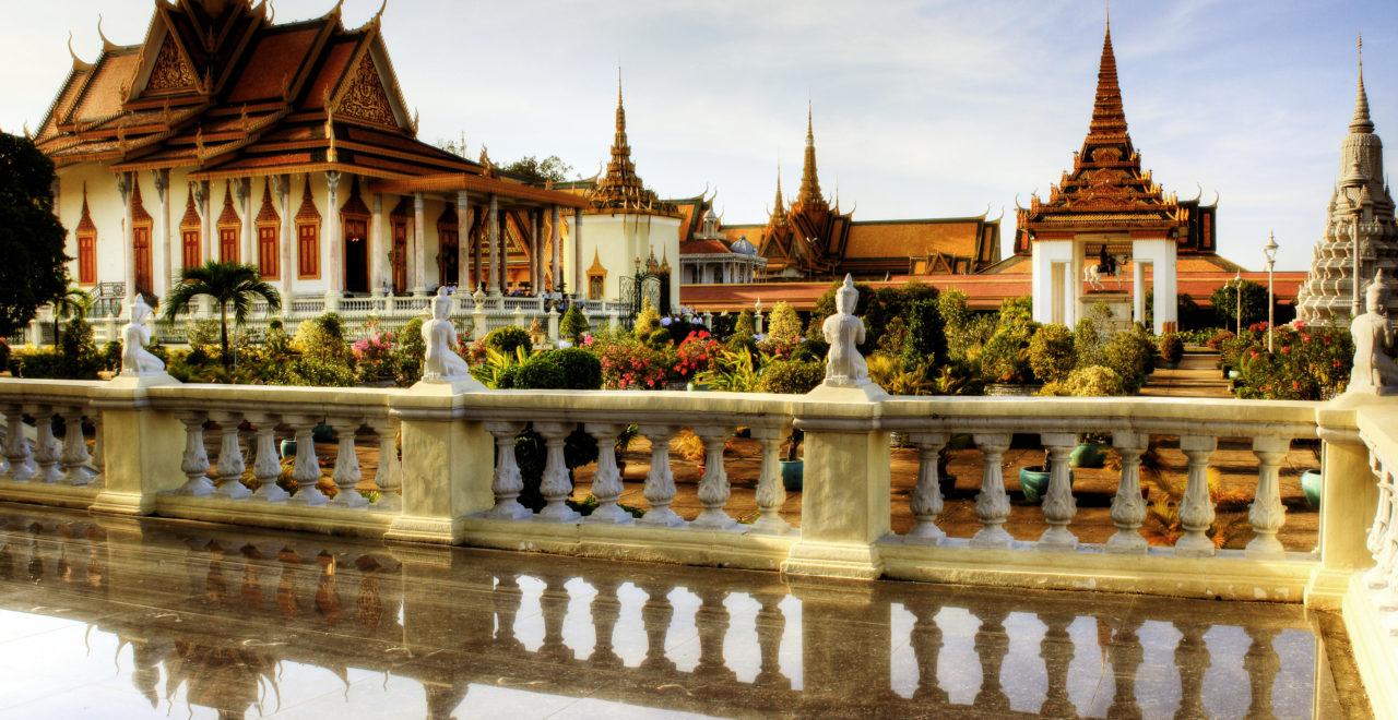 Silver Pagoda - Phnom Penh - Kambodsja