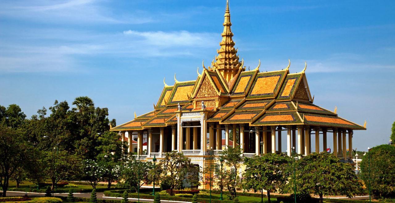 Royal Palace, Phnom Pehn, Kambodsja