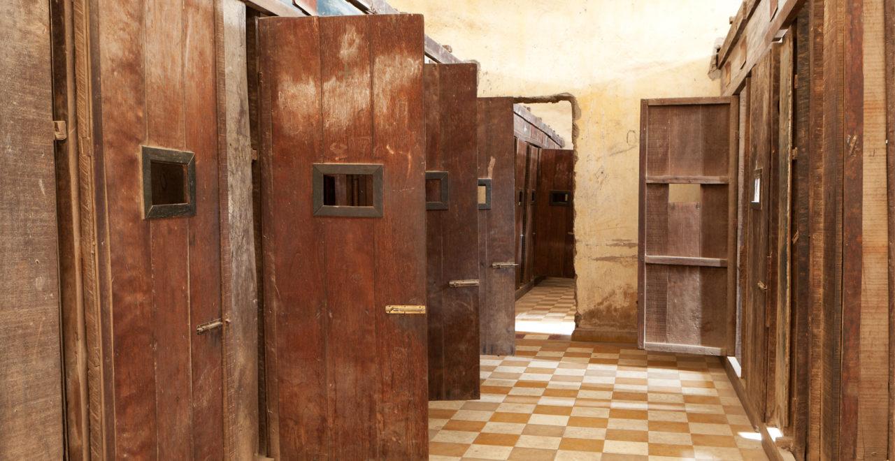 Tuol Sleng, fengsel, S21, Phnom Penh, Kambodsja