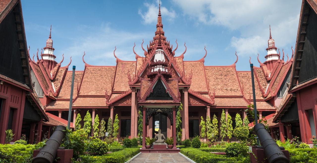 The National Museum In Phnom Penh, Kambodsja