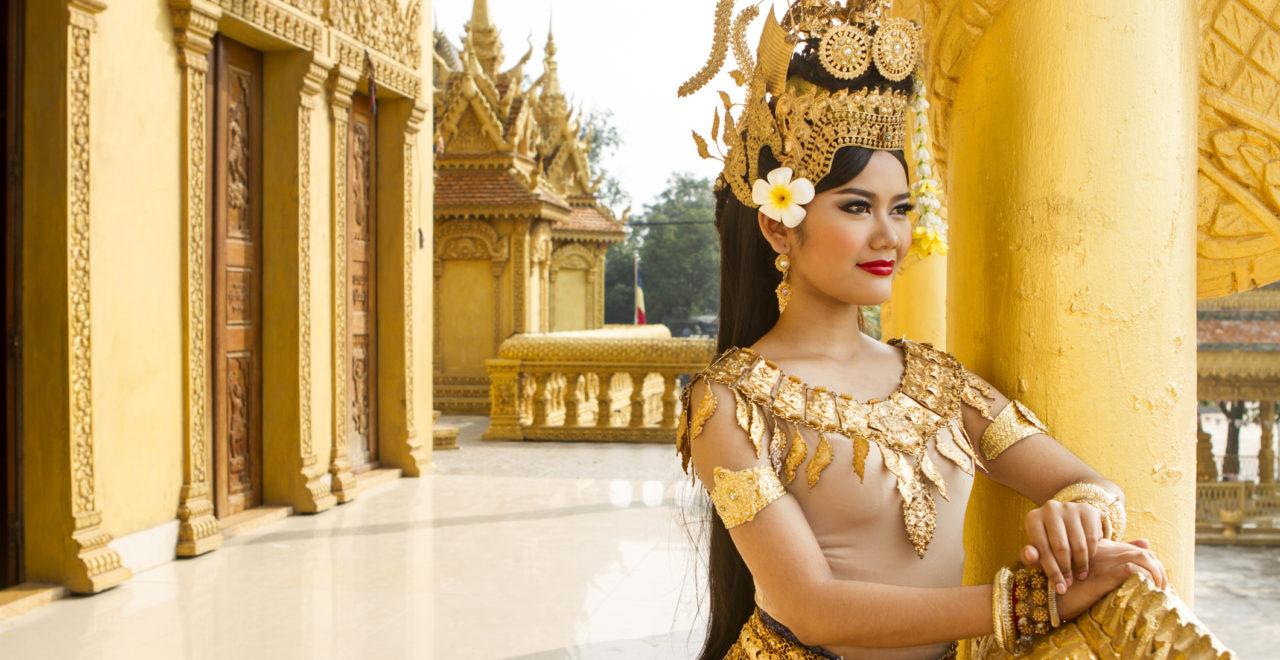 Kambodsja, apsara, danser