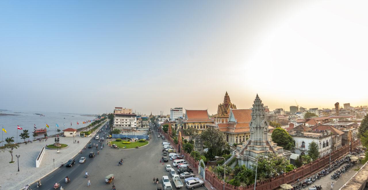 Wat Ounalom, Phnom Penh, Kambodsja