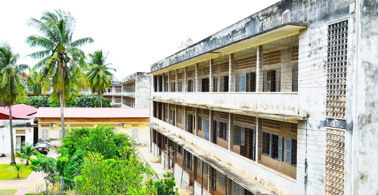 Tuol Sleng (S21) fengsel, Phnom Penh, Kambodsja
