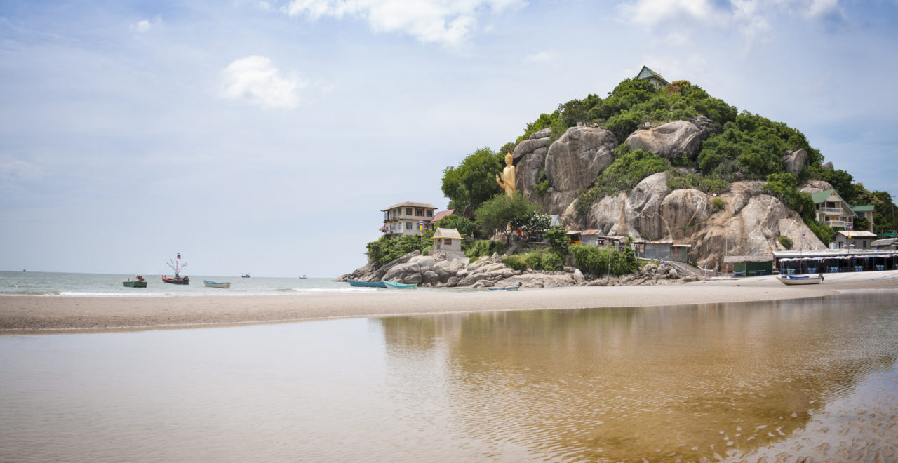 Hua Hin strand, Thailand